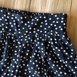 Xhilaration Pants - Polka dot wide legged pants